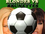 Blondes vs Brunettes 2x2Football Icon